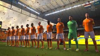 Скриншоты из игры FIFA World Cup 2014